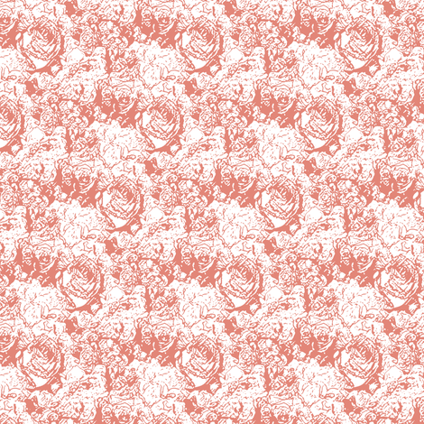Lush Lines - Blush fabric by inscribed_here on Spoonflower - custom fabric