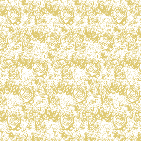 Lush Lines - Gold fabric by inscribed_here on Spoonflower - custom fabric