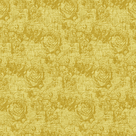 Lush Tones - Gold fabric by inscribed_here on Spoonflower - custom fabric