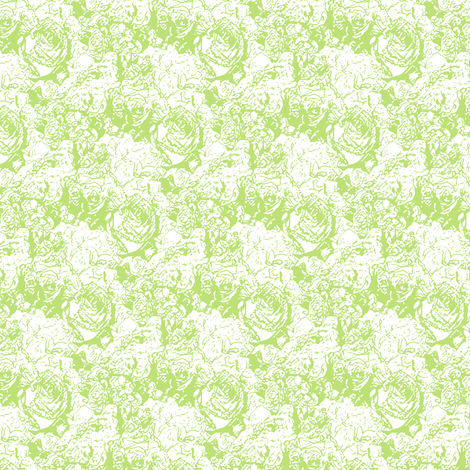 Lush Lines - Viridian fabric by inscribed_here on Spoonflower - custom fabric