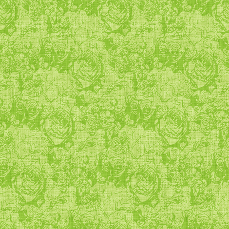 Lush Tones - Viridian fabric by inscribed_here on Spoonflower - custom fabric