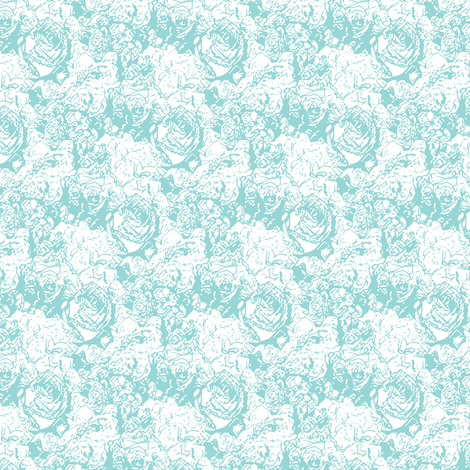 Lush Lines - Cool Mint fabric by inscribed_here on Spoonflower - custom fabric