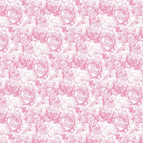 Lush Lines - Rose fabric by inscribed_here on Spoonflower - custom fabric