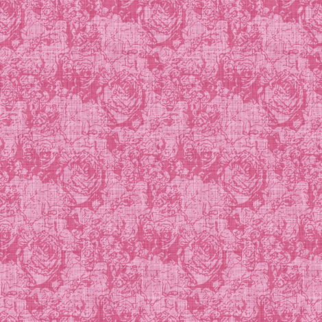 Lush Tones - Rose fabric by inscribed_here on Spoonflower - custom fabric