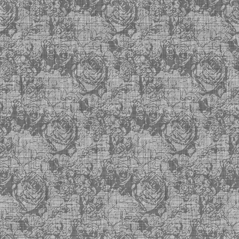 Lush Tones - Silver fabric by inscribed_here on Spoonflower - custom fabric