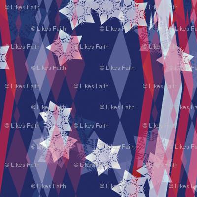 Stars and Stripes Celebrating