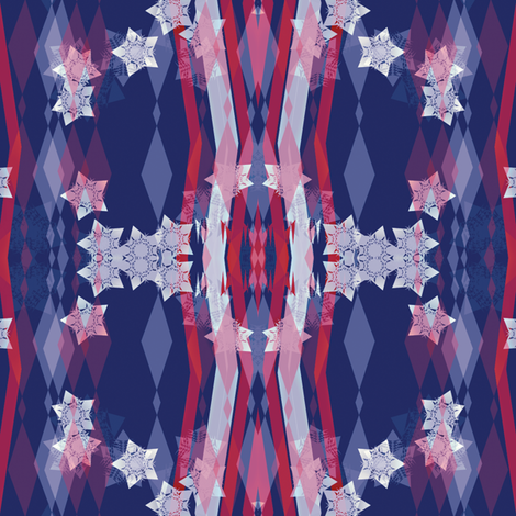 Stars and Stripes Celebrating fabric by wordfabric on Spoonflower - custom fabric
