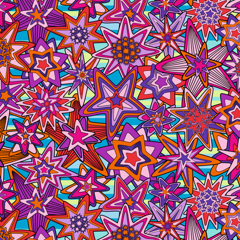 My dreams fabric by juliagrifol on Spoonflower - custom fabric