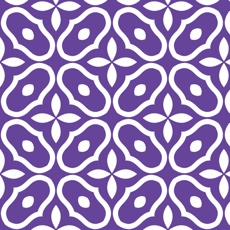 Mosaic - Grape fabric by inscribed_here on Spoonflower - custom fabric