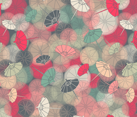 Mai Tai for Chelsey fabric by candyjoyce on Spoonflower - custom fabric