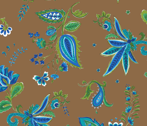 Java paisley fabric by neatdesigns on Spoonflower - custom fabric