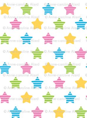 Striped stars