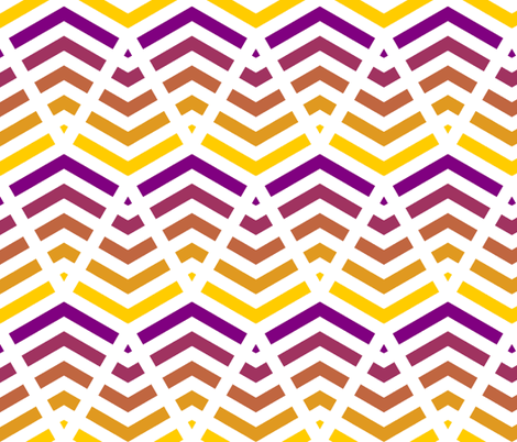 kite 2 chevron 5 fabric by sef on Spoonflower - custom fabric