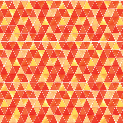 Jupiter Triangles fabric by wildnotions on Spoonflower - custom fabric