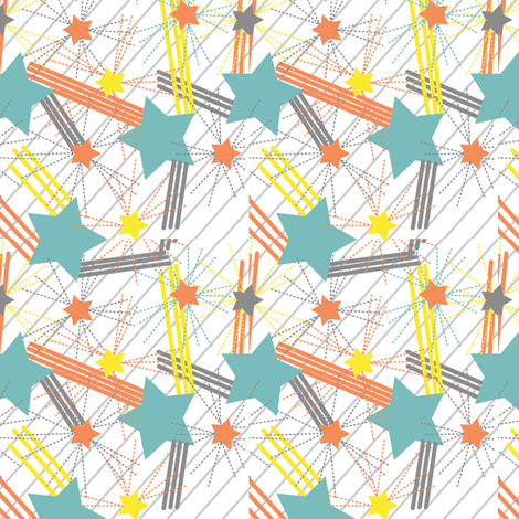 Star Burst fabric by viewfromtheskye on Spoonflower - custom fabric