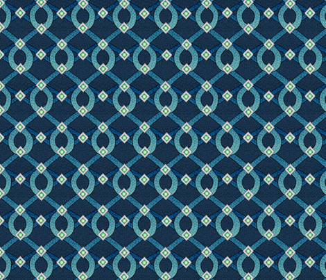 blue_shimmer fabric by glimmericks on Spoonflower - custom fabric