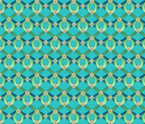 sea_dragon_shimmer fabric by glimmericks on Spoonflower - custom fabric