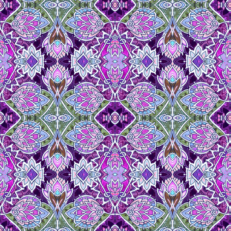 Epistle on Thistle fabric by edsel2084 on Spoonflower - custom fabric