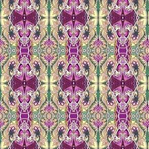The War of the Art Nouveau Spadeflowers