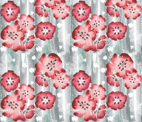 Sakura Blossom fabric by mag-o on Spoonflower - custom fabric