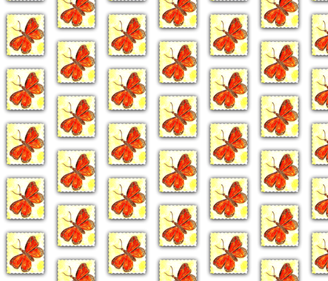 Monarch Butterfly fabric by anniedeb on Spoonflower - custom fabric