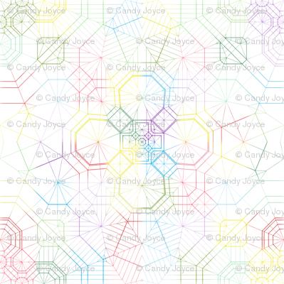 Origami Rainbow Blur