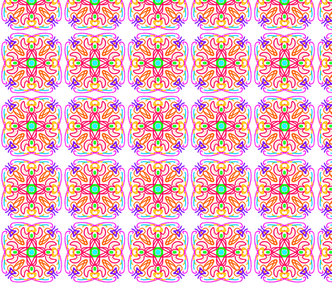 kaleidoscope_23b fabric by mammajamma on Spoonflower - custom fabric