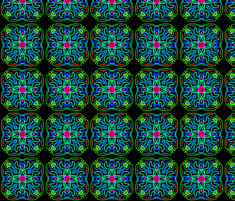 kaleidoscope_23 fabric by mammajamma on Spoonflower - custom fabric