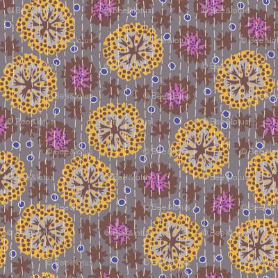 Kantha Floral 3