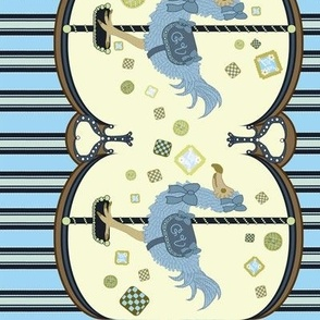 Dodo Cookie Carousel blue