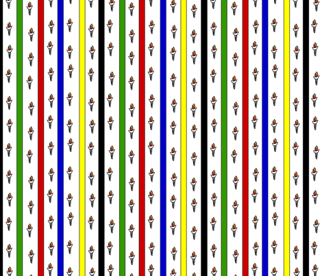 champions_stripe fabric by glimmericks on Spoonflower - custom fabric