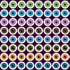 Abaceye Rows Watching (Purple Backdrop)