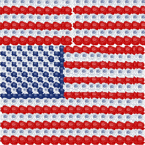 Stars and Stripes 2 fabric by brandymiller on Spoonflower - custom fabric