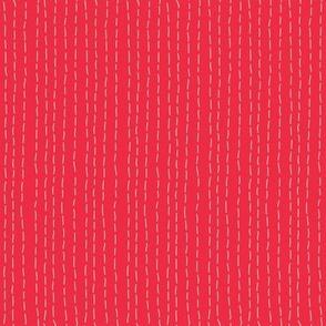 Kantha Stitch Coral