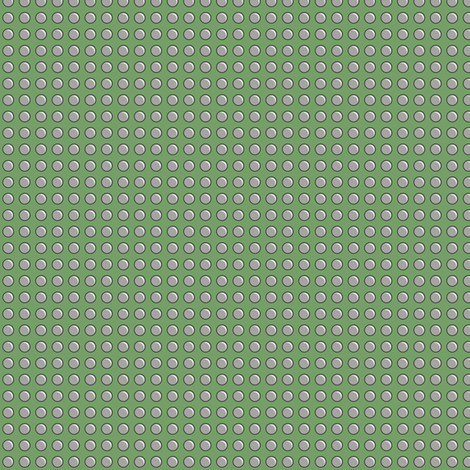 Robot Panels with Small Rivets on Green fabric by taracrowleythewyrd on Spoonflower - custom fabric