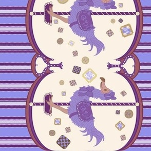 Dodo Cookie Carousel Purple