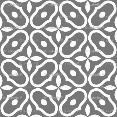 Mosaic - Dark Grey