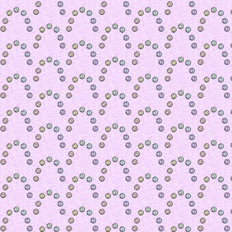 volleyball_spoonflower_rainbow_effect1_6_24_2012 fabric by compugraphd on Spoonflower - custom fabric