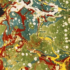 Marbled Endpaper