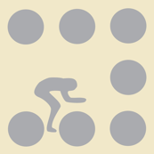 Cycle Race Stone Dot