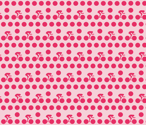 Cycle race candy dot fabric by smuk on Spoonflower - custom fabric