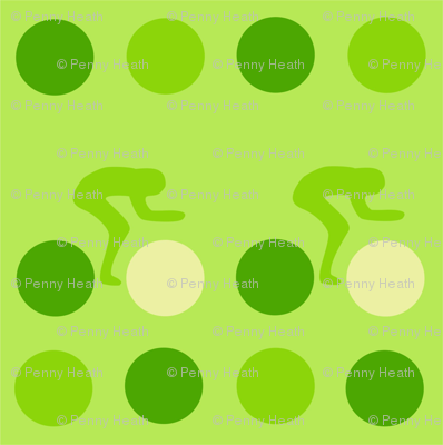 Cycle Racers Green Dot