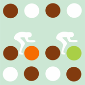 Cycle Racers Retro Dot