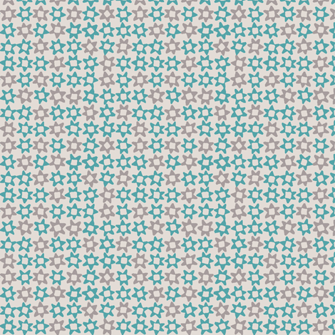 MINI_STAR_BLUE fabric by glorydaze on Spoonflower - custom fabric