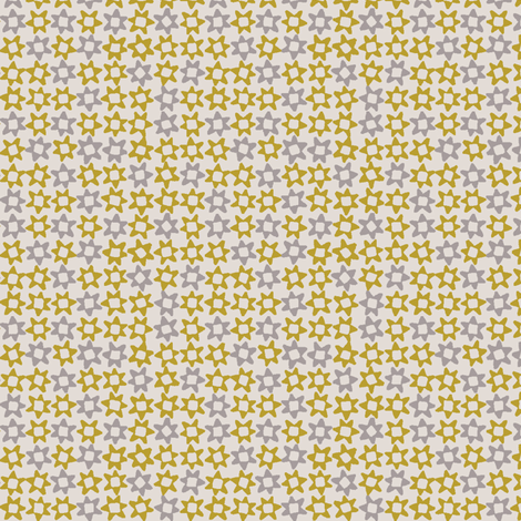 MINI_STAR_YELLOW fabric by glorydaze on Spoonflower - custom fabric