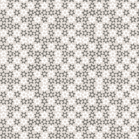 MINI_STARS_GREY fabric by glorydaze on Spoonflower - custom fabric