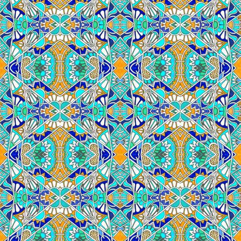 Jaunty Journey fabric by edsel2084 on Spoonflower - custom fabric