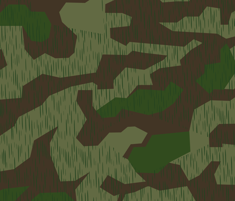 Splinter A German Army Camo fabric by ricraynor on Spoonflower - custom fabric