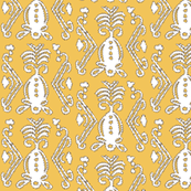 Pineapple Ikat Tuscan