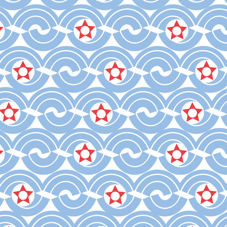 Mod_in_America fabric by ottomanbrim on Spoonflower - custom fabric